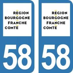 Département 58 - Nièvre -...