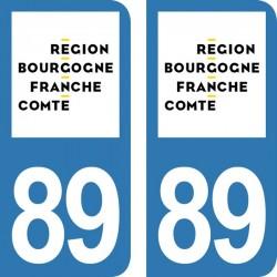 Département 89 - Yonne -...