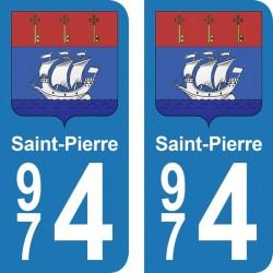 Département 974 - Saint-Pierre