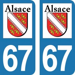 Département 67 - Bas-Rhin -...