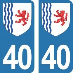 Département 40 - Landes -...