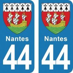 Stickers plaque...