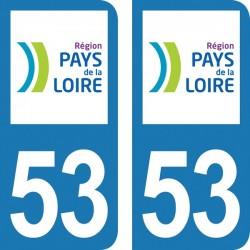 Département 53 - Mayenne -...