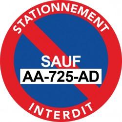 Stickers Stationnement...