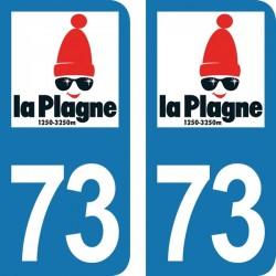 Département 73 - La Plagne